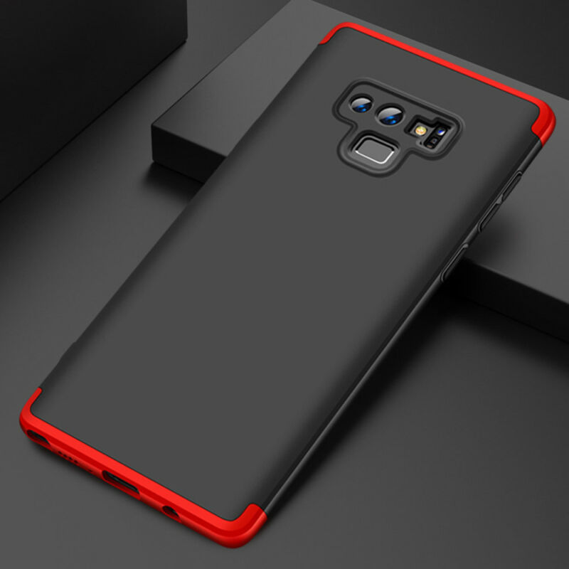 For Samsung Galaxy Note 9/8/S9/S8/S7/Plus/Shockproof 360° Case+Screen Protector 8