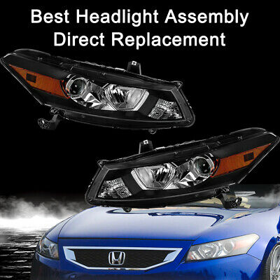 Auto Parts and Vehicles Car & Truck Headlights Black Housing ...