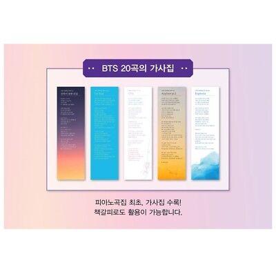 NEW History Of BTS Piano & Lyrics K-POP Bangtan Boys Piano Note Smyang Kpop BTS 4