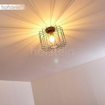 Design Decken Beleuchtung Kristall Schlaf Gäste Zimmer Stoff Schirm Lampe silber