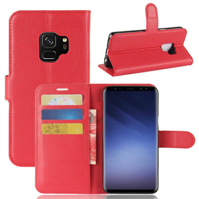 Wallet Leather Cardholder Flip Case Cover For Samsung Galaxy S8 S9 S10 S10E Plus 6