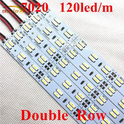 12V 0.5m Double Row 5630 7020 8520 2835 Hard Led Strip Bar Lights LED Light 50cm