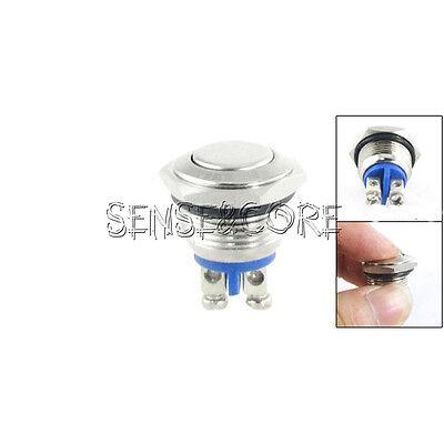 Einbauschalter rastend Schalter Druckschalter 16 mm max 250V 3A Edelstahl LED