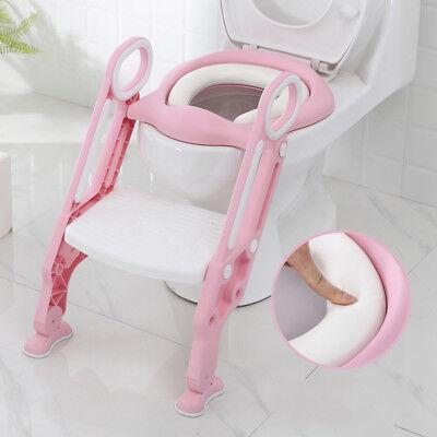 Bébé Formation Siège de Toilette échelle marches pliable Enfant WC Pot éducatif 12