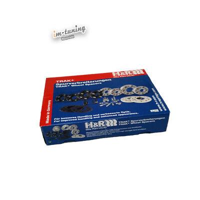 10mm p.A B75725-05 E63, E64 H/&R ABE Spurverbreiterung sw für BMW 663 C