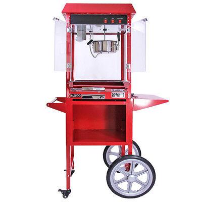 Popcorn Maker Retro Machine & Cotton Candy Floss Making Party Electric Machine 3