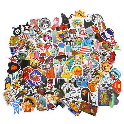 400pc Random Stickers Vinyl Skateboard Guitar Travel Case sticker pack decals AU