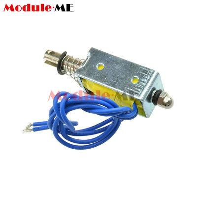 DC6V/12V/24V Push Pull Type Open Frame Solenoid Electromagnet Reset 10mm 5N/2N 8