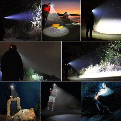 Waterproof 90000LM XM-L T6 LED Headlamp Headlight Flashlight Head Torch 18650 8