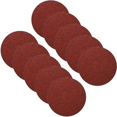 Klettschleifpapier Schleifscheiben Klettschleifscheiben 150mm ohne Loch 36-1200 2