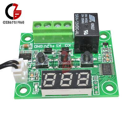 -50-110°C Red W1209 Digital thermostat Temperature Control Switch 12V + Sensor 5