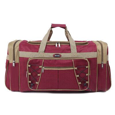Duffle Bag Sport Gym Carry On Travel Luggage Shoulder Tote HandBag Waterproof 4