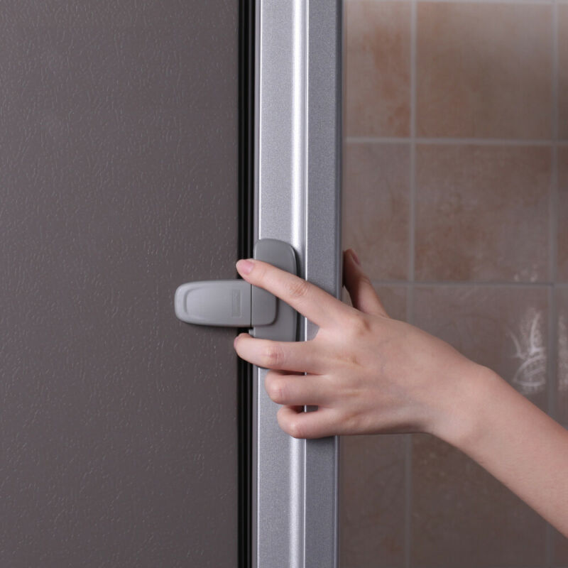 Fridge Guard  Fridge Door Latch Baby Safety Child Lock Strong-Adhesive Tape 5