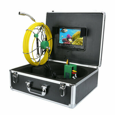 "9""LCD DVR 40M Waterproof Drain Pipe Sewer Inspection Camera System 8GB TF Card 3"