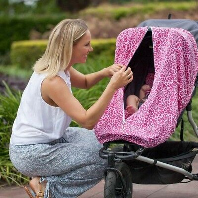 New Outlook Sleep Eazy Stroller Cover Black Swallows Free Express Shipping 2