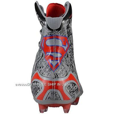 f91209542 ... Under Armour Alter Ego SUPERMAN Highlight MC Clutchfit Football Cleats  Mens NIB 8