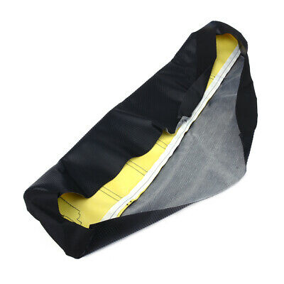 Motorcycle Yellow New Gripper Soft Seat Cover MX Rubber For Suzuki RM85 2002-17