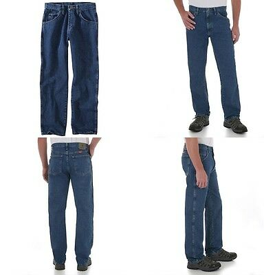 New Wrangler Five Star Regular Fit Jeans Men's Sizes Five Colors Free Shipping 3
