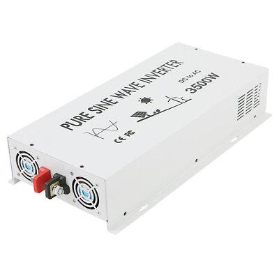 3500Watt Pure Sine Wave Inverter Solar Power Inverter 12V to 120V DC to AC Home 3
