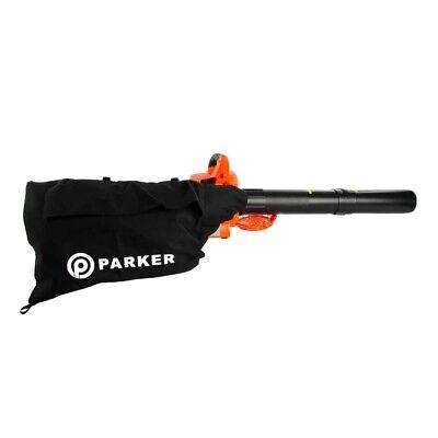 26cc 3-in-1 Petrol Leaf Blower, Vacuum, Mulcher & Shredder 9