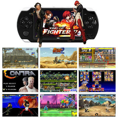 """64 Bit 4.3"""" PSP Portable Handheld Game 8GB Console Player 10000+Games +Camera 4"""