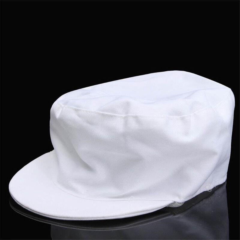 Elastic Catering Hat Chef Bakers Bouffant Cap Food Hygiene Snood Cap Dust-proof 4