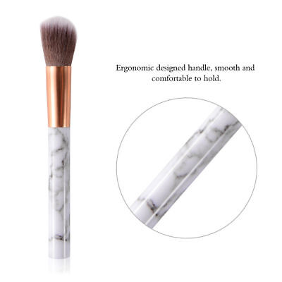 10pcs Kabuki Style Professional Make up Brush Set Foundation Blusher Face Powder 9