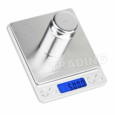 0.01-500g Kitchen Food Scale Digital LCD Electronic Balance Weight Postal Scales 6