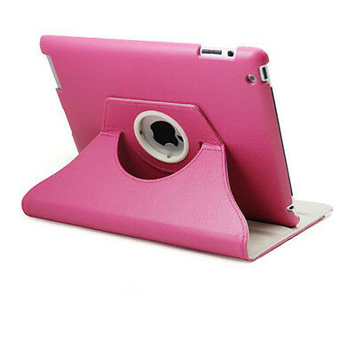 360 Rotating Leather Smart Cover Case for iPad 6th Gen iPad 5 4 3 2 Air mini 4