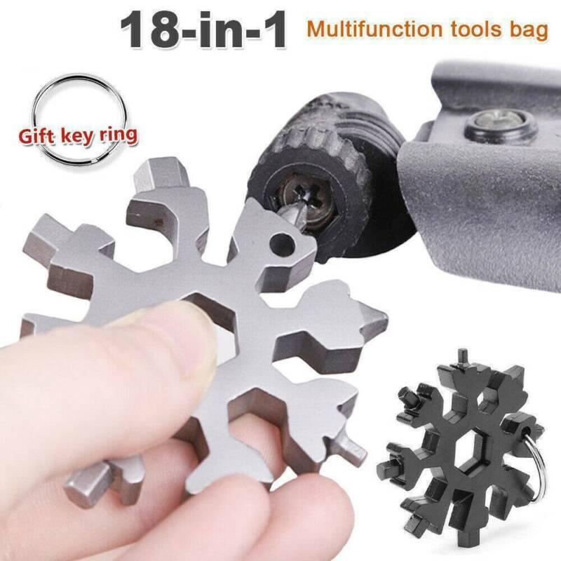 Snowflake Multi Tool 18In1 Snow Flake Steel Shape Flat Cross Household Hand Tool 2