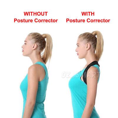 Posture Corrector Adjustable Men Women Shoulder Brace Back Support Strap Belt 3
