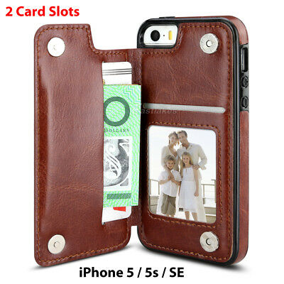 Flip Leather Wallet Case Card Shockproof Cover for iPhone XS Max XR 11 Pro 8 7 12