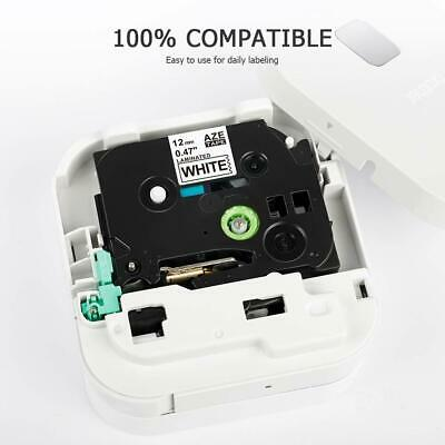 Compatible Brother TZ-231 P-Touch Black On White Label Tape 12mm x 8m TZe-231 3
