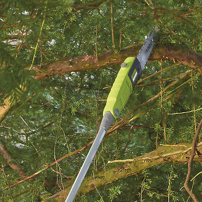 Telescopic Pole Chainsaw Long Reach Electric Tree Pruner Trimmer Branch Cutter 7