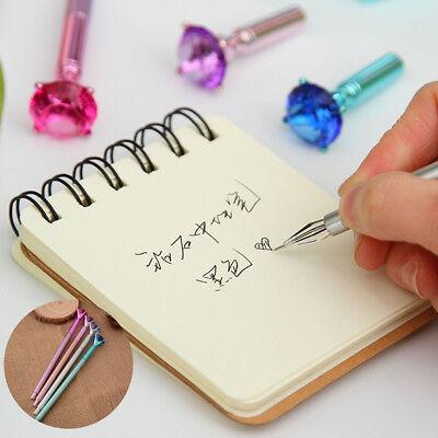 Coloful Diamond Pen Creative Big Crystal Ballpoint Pens Stationery Office Supply 6