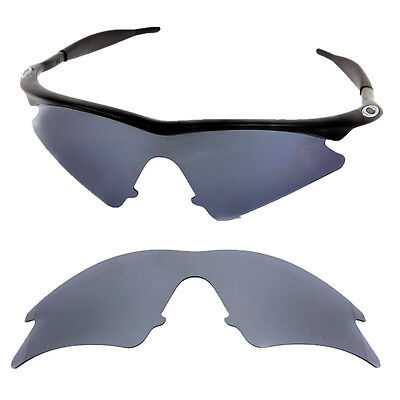 ffc1828988 ... Black Chrome Iridium Polarized Replacement lenses for-Oakley M frame  Sweep 6