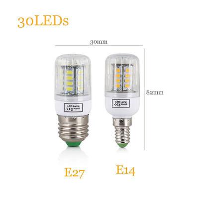 E27 E14 LED MAZORCA Bombilla 45w 30w 25w 20w 15w 12w 7w luz 5730SMD 11