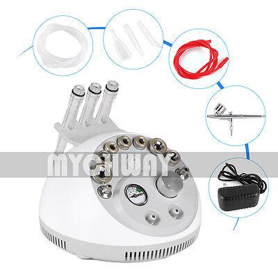 Mini Por Dermabrasion Spray Vacuum Suction Blackhead Remove Skin Peeling Machine