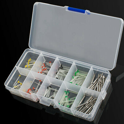 160pcs Dental Glass Fiber Post Single Refilled Package & Free For 32pcs Drill 2