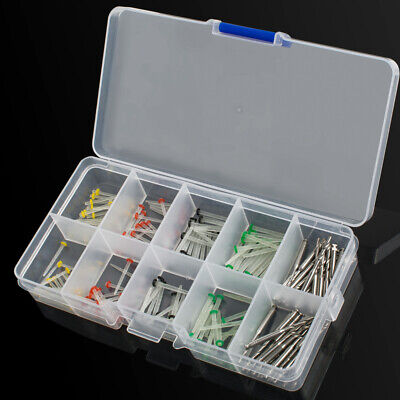 New 160Pc Dental Glass Fiber Post Single Refilled Package & Free For 32pcs Drill 11