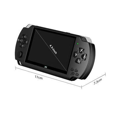"X6 PSP 8G 4.3"" Handheld Spielkonsole funny Spiele +Kamera tragbar player Hohe 10"