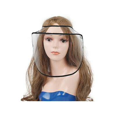 US Safety Full Face Shield Adjustable Anti-Fog Protective Face Cover Transparent 4