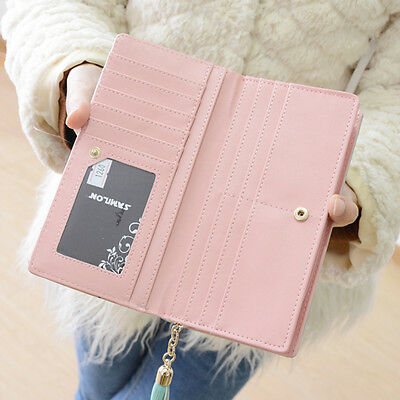 Anime Cartoon Long Clutch Wallet Card Money Holder Purse Bag Accessorie