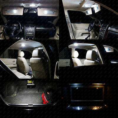 13 X Xenon White Led Interior Lights Package Kit For Jeep Cherokee 2017 2018 3