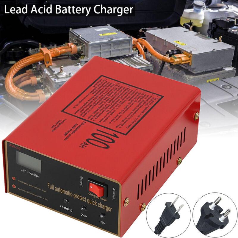 12V/24V 10A LED Intelligent Chargeur de Batterie pr Voiture Auto Moto EU Plug PA 3