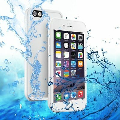 360° Waterproof Dustproof Rubber Phone Case Cover For iPhone 6 6s 7 8 Plus 5 5s 8