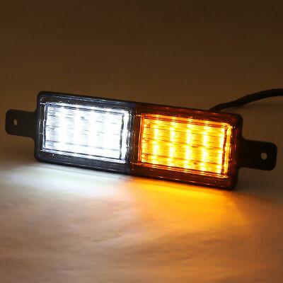 2X Sealed Bullbar Lights Set Front Indicator Park LED Bull Bar Light 12