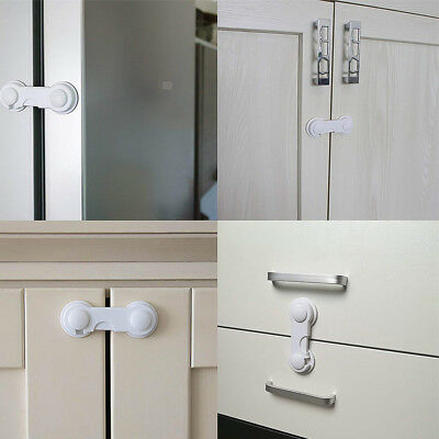 Toddler Baby Safety Lock Proof Cabinet Drawer Fridge Cupboard Door Home Supply 10