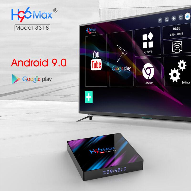 Tv Box Android 9.1 Iptv 4K Full Hd 1080P 2Gb 16Gb Ram Smart Decoder Wifi  Pro 2