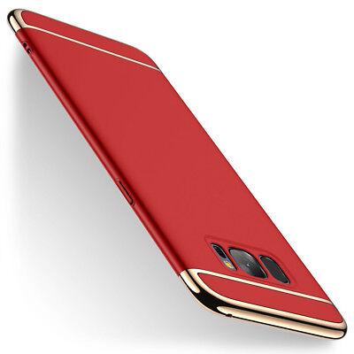 Hybride Housse Coque Samsung S8 S9 Plus S7 S6 Edge A3 A5 A7 A8 J3 J5 J7 Note 8 7